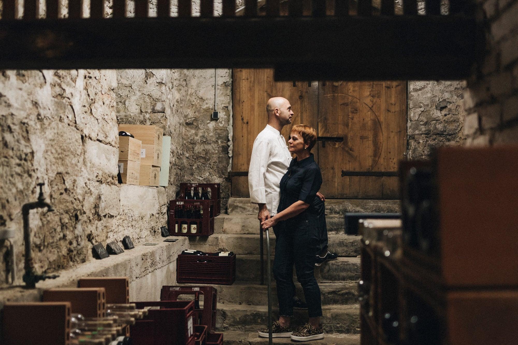 Im Weinkeller des Alten Rentamts zu Schwaigern
